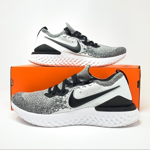 Nike Epic React Flyknit 2 Oreo Running